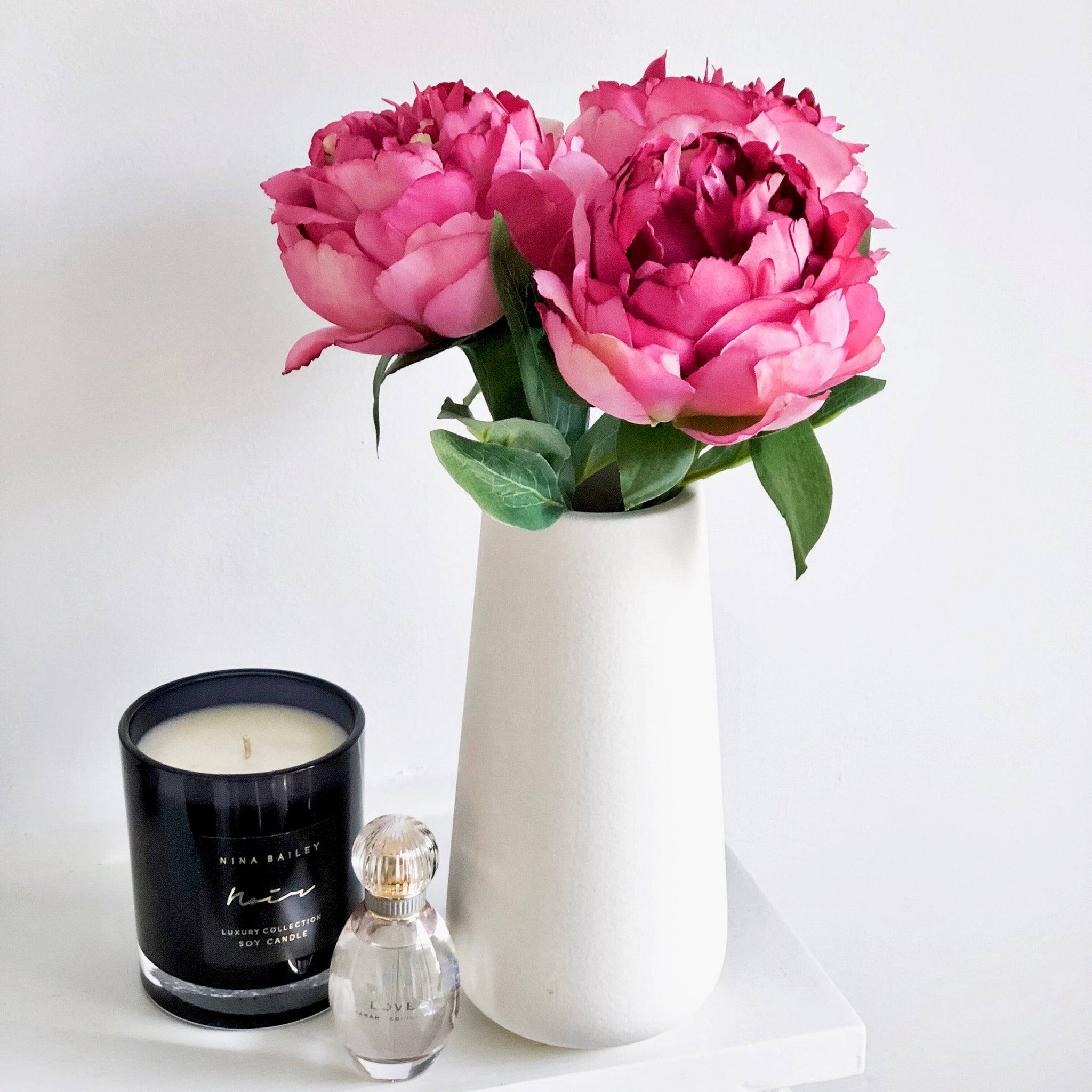 Petite Pink Beauty Peony Bouquet - Faking Beautiful