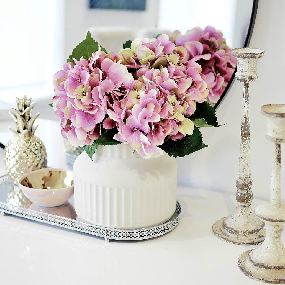 Pink Hydrangea Bouquet - Faking Beautiful