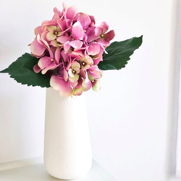 Pink Hydrangea - Faking Beautiful