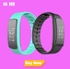 Smart Band ID115 HR Bluetooth Wristband Heart Rate Monitor Fitness Tracker Pedometer Bracelet For Phone pk FitBits mi 2 Fit Bit - Slim Body Secret