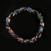 Magnetite Natural stone Multicolor Beaded Bracelets Magnetic Hematite Health Bracelet for Women Men beads Jewelry Face Lift Tool - Slim Body Secret