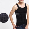 2016 Men Slimming Body Shaper Tummy Shaper Vest Slimming Underwear Corset Waist Muscle Girdle Shirt Fat Burn Posture Corrector - Slim Body Secret