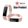 FUWUDIYI ID115 Smart Bracelet Fitness Tracker Step Counter Fitness Alarm Clock Vibration Wristband pk ID107 fit bit mi band 2 - Slim Body Secret