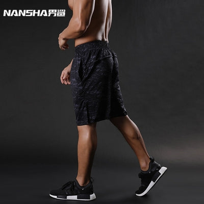 Brand Mens Compression Shorts Summer Python
