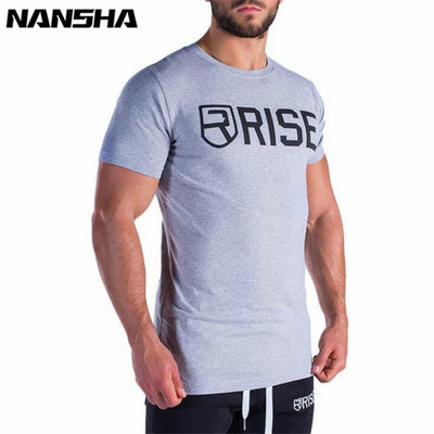 Mens Short Sleeve Cotton T-shirt Summer