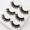 3 pairs Lashes 3D False Eyelashes Crisscross Thick - Slim Body Secret