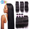 BY Pre-Colored 100% Remy Human Hair Bundles With Closure Brazilian Hair. NOW AVAILABLE ON slimbodysecret.com - Slim Body Secret