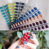 2018 new Fashion Women Matte candy false nails short round tail tip 7 color Optional - Slim Body Secret
