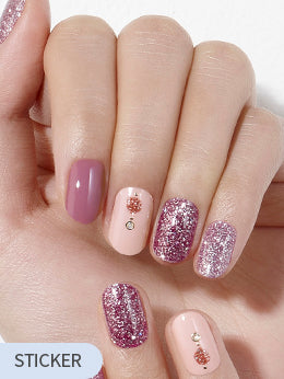 [Gloss Gel] GVP261 Pink Ornament