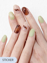 Load image into Gallery viewer, [Gloss Gel] GVP309 Amber Greentea