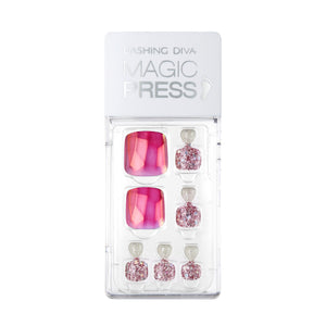 [Magic Press Pedi] MDR361P Magenta Gem