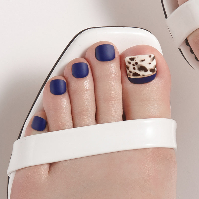 [Magic Press Pedi] MDR662P Smudged Leopard