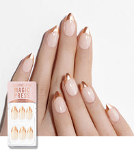 Load image into Gallery viewer, [Magic Press] MWK020ST Rose Gold Edge French (Stiletto)
