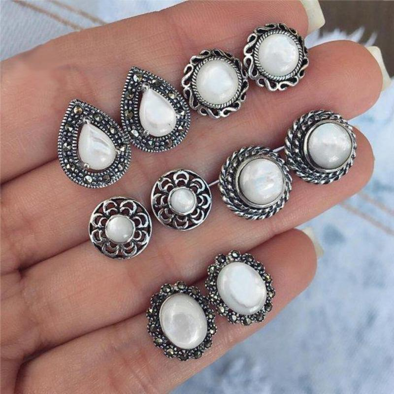 Pearl Bohemian Earrings