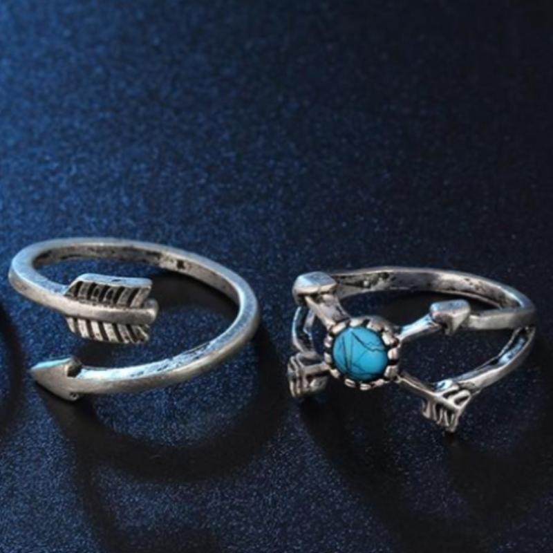 Vinnie Antique Ring Set