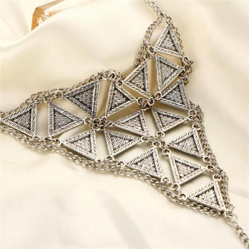 Lovely Triangle Anklet