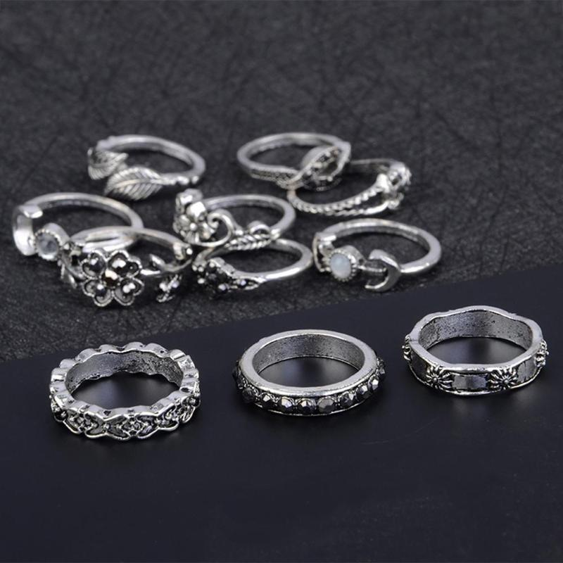 Shiny Style Ring Set