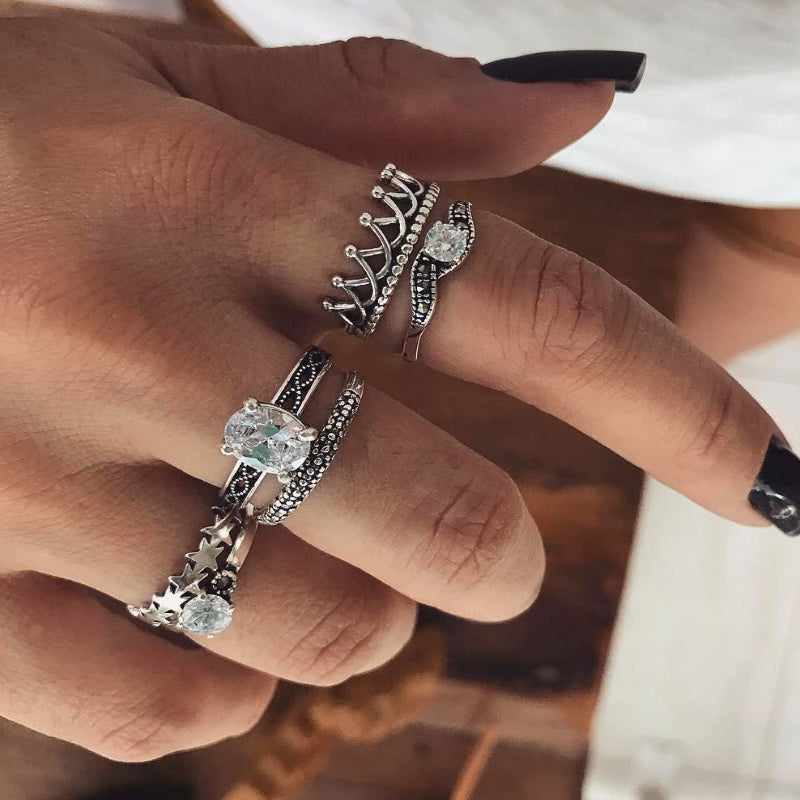 Transparent Ring Set