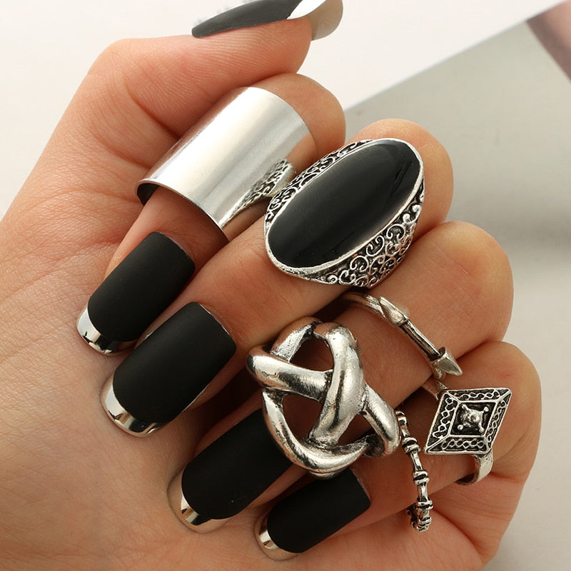 Classic Shape Ring Set