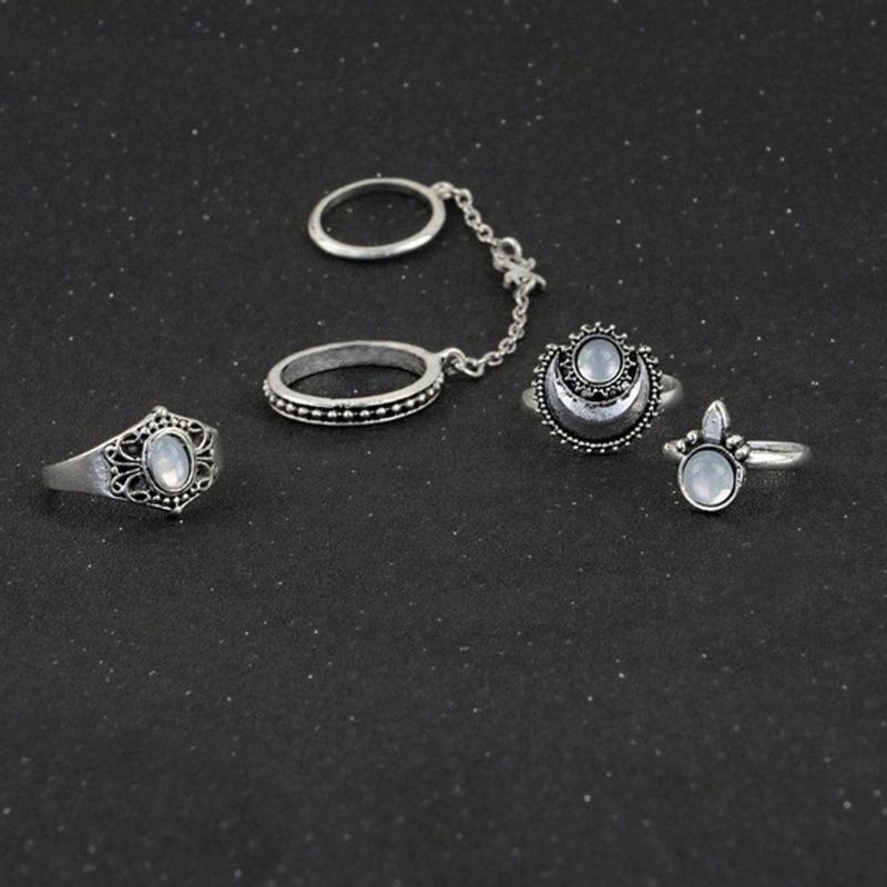 Gypsy Retro Ring Set