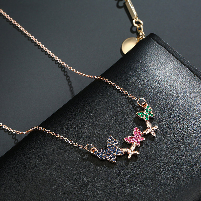 Butterfly Color Necklace