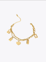 Romantic Love Lock Bracelet