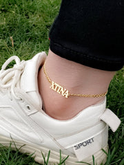 Trippy Custom Anklet