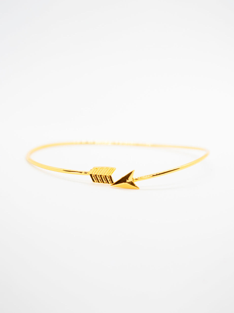 Punk Arrow Wrap Cuff Bracelet