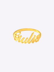 Script Custom Name Ring