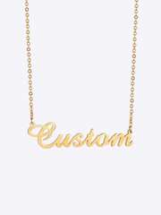 Script Custom Name Necklace