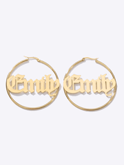Old English Custom Jumbo Hoops