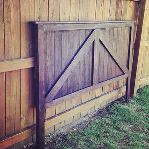 the mine for corner headboard supposed you spouse s fully felt be like bedroom diy barn an oasis door kurtz well a to master never your it and getaway right