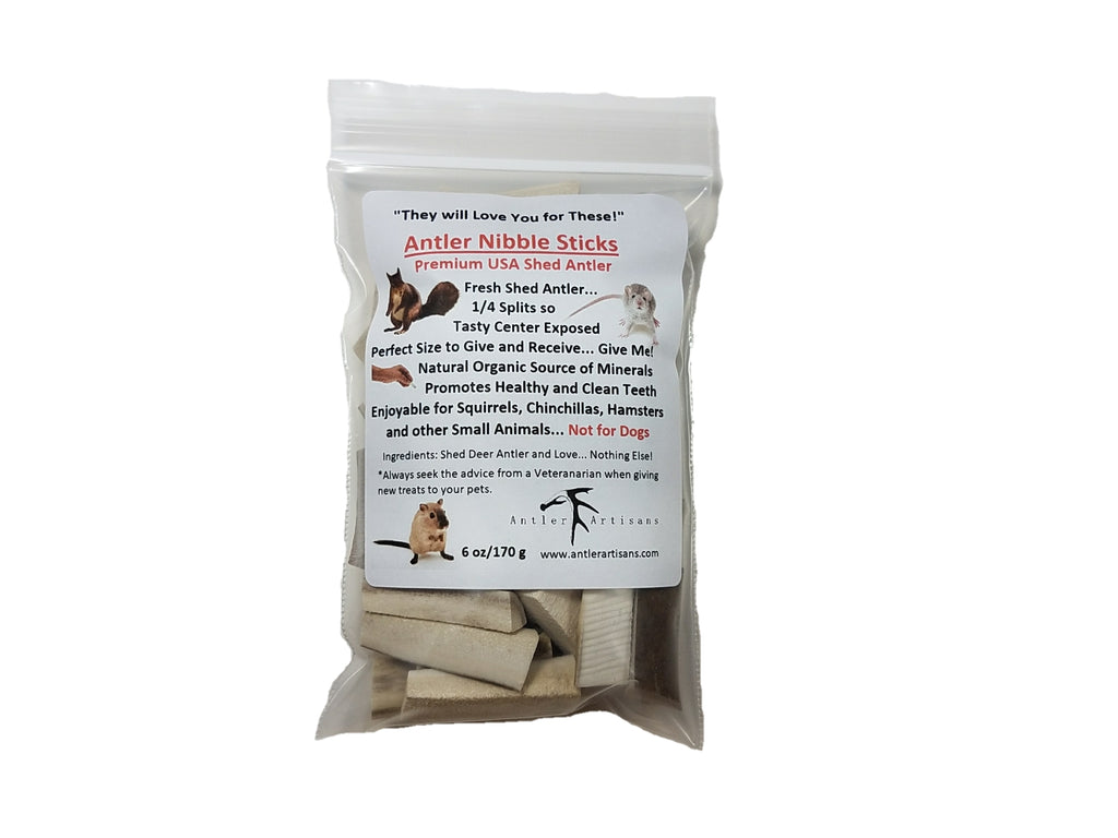 6oz Antler Nibble Sticks (TM)