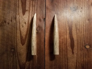 pair of Antler Tine Handles by Antler Artisans