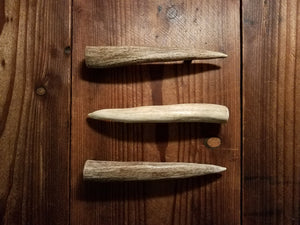 Antler Tine handle variations by Antler Artisans