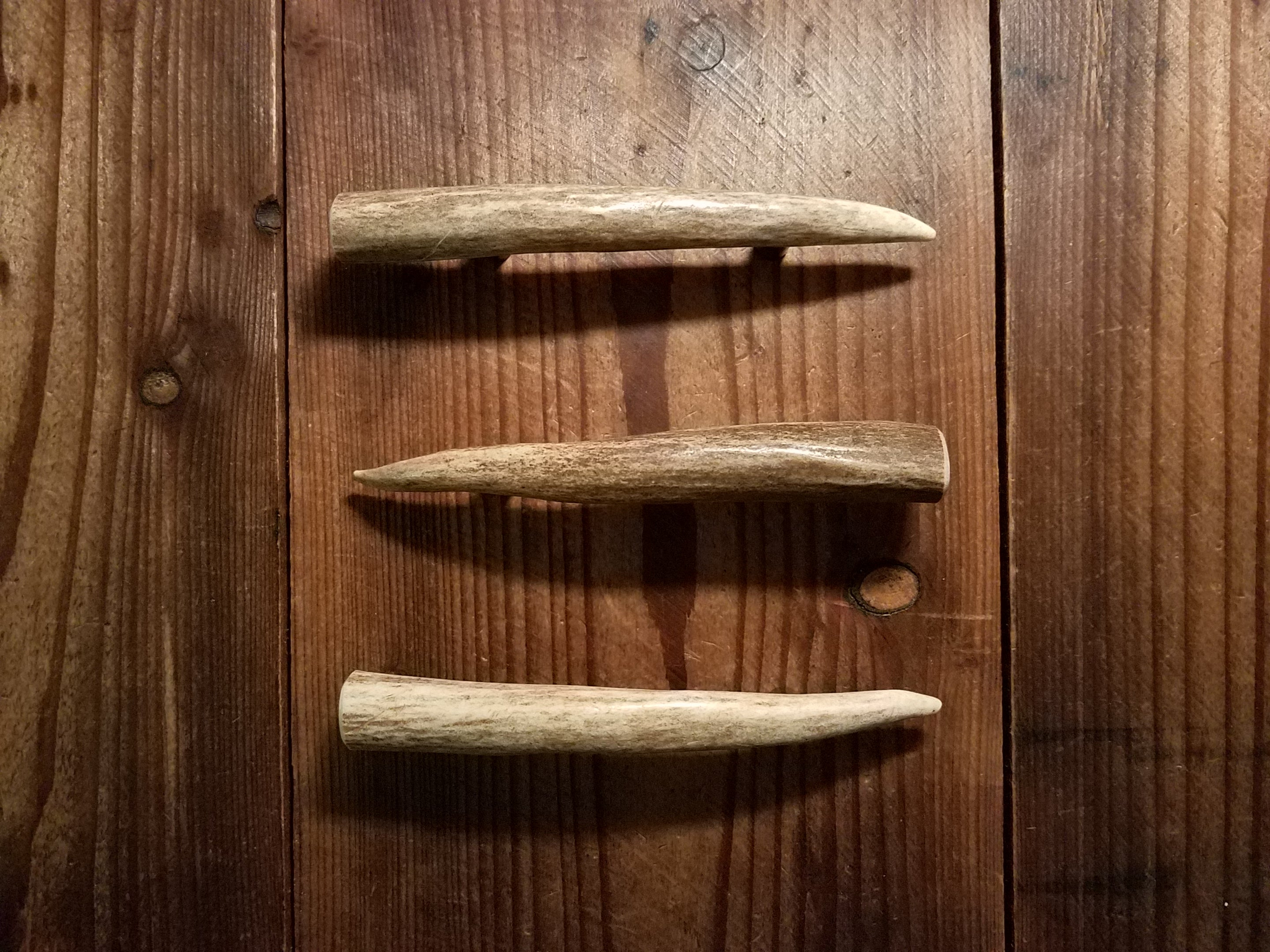 "6"" Antler Tine Handle variations by Antler Artisans"