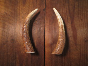pair of elk brow tine handles by Antler Artisans