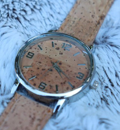 Mens Cork Watch