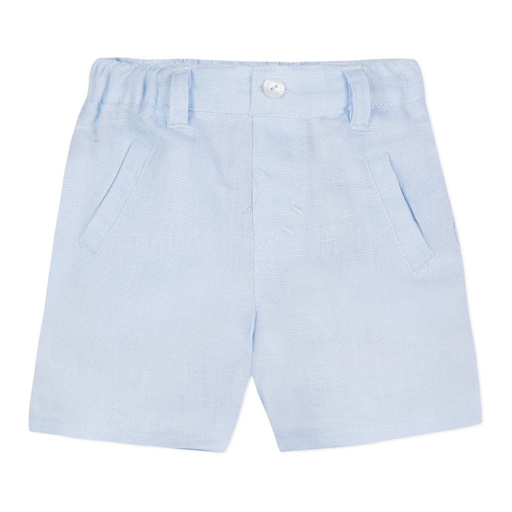 Absorba Boys Blue Linen Shorts