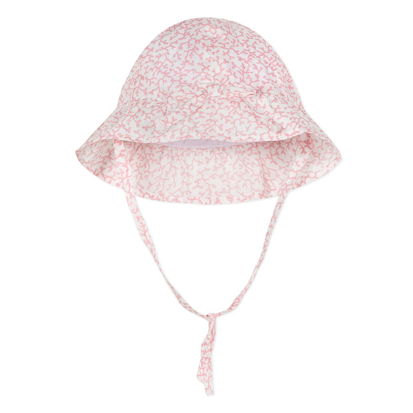 Absorba Baby Girls Pink Liberty Print Sun Hat