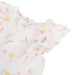 Absorba Girls White Ice Cream Print Dress