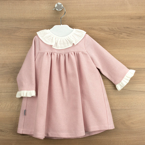 Babidu Girls Dusky Pink Dress