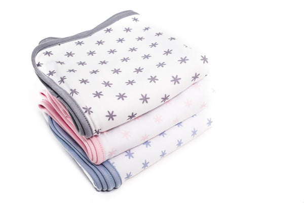 Babidu Grey Star Blanket