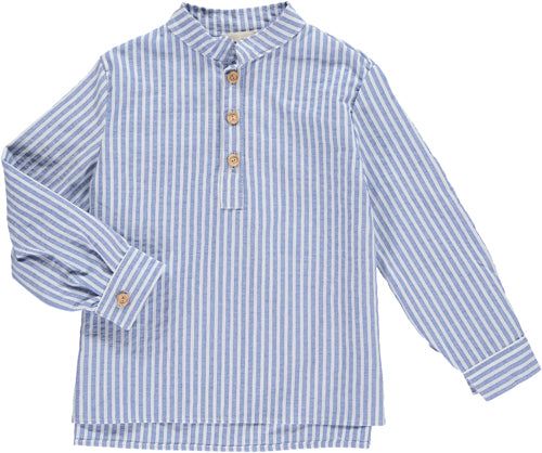 Benedita Blue Stripe Shirt