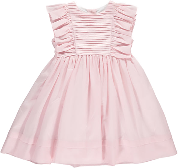 Benedita Girls Pink Ruffle Dress