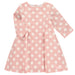Benedita Pink Polka Dot Dress | Lucas & Luna