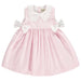 Benedita Girls Pink & White Striped Dress