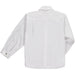 Benedita Boys White Linen Shirt Back