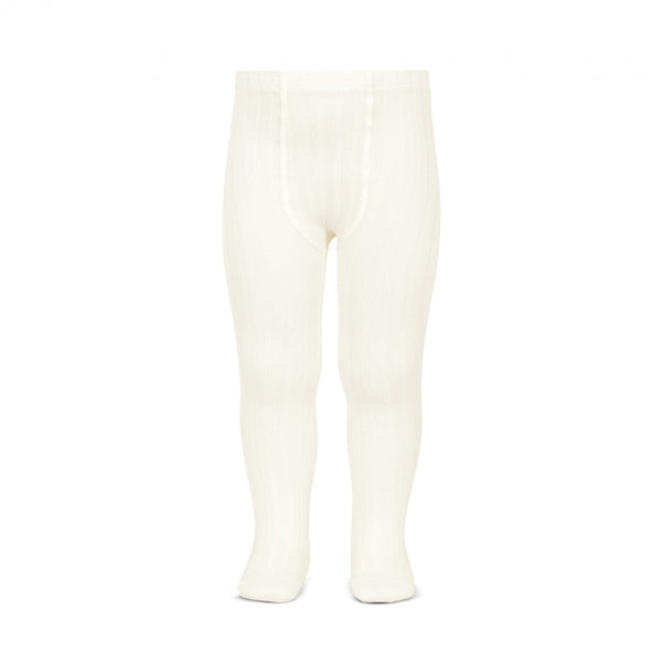 Cóndor Cream Wide Rib Tights