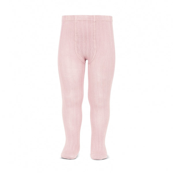 Cóndor Pink Wide Rib Tights